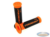Handle grips ProGrip 732 black / orange 24mm / 22mm