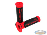 Handvatset ProGrip 732 zwart / rood 24mm - 22mm