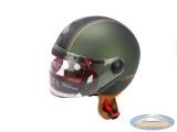 Helmet MT Street Entire matt green / brown