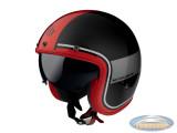 Helm Le Mans II SV Tant black, grey, red