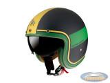 Helm Le Mans II SV Tant black, green, gold
