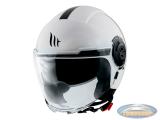 Helmet MT Jet Viale SV white