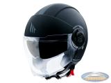 Helmet MT Jet Viale SV matt black
