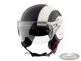 Helmet MT Soul Retro leather black-white
