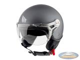 Helmet MT Soul Retro matt grey