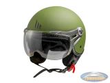 Helmet MT Soul Retro matt green