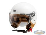 Helmet MT Soul Retro glossy white