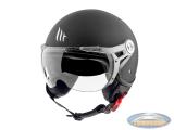 Helmet MT Soul Retro matt black
