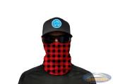 Face Shield SA Lumberjack red