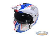Helm MT Streetfighter SV Twin white / red / blue