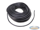 Insulating sleeve PVC black 10.0mm per meter