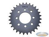 Rear sprocket Tomos various models 33 tooth Esjot A-quality