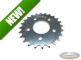 Rear wheel sprocket Tomos Revival 24 tooth (5 holes) Esjot