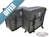 Rear carrier luggage bag set side original Tomos