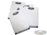 Tomoshop notepad A6-size