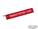 Keychain / Tag remove before flight Tomoshop.nl