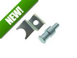 Flywheel / kickstart cover spring holder / pedal stop Tomos A35 / A55