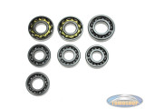 Bearing set Tomos 4L old type 4 gear pedal shift