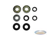 Bearing and oil seal set Tomos 2 gear hand shift
