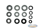 Bearing and oil seal set Tomos 4L new type AT/ATX 4 gear foot shift