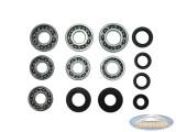 Bearing and oil seal set Tomos 4L new type AT/ATX 4 gear foot shift