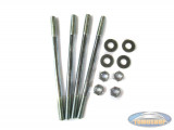Stud set for cylinder with bolts M7x120