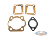 Gasket kit Airsal 50cc / 65cc reed valve cylinder