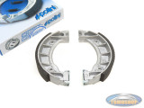 Brake shoes Tomos A35 front / rear Polini (105 mm)