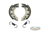 Brake shoe set Tomos A3 / S25 (90 mm)