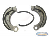 Brake shoes Tomos A3 single spring (90 mm)