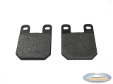 Brake pads set MKX for AJP brake caliper