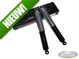 Schokbrekerset 310mm chroom / zwart MKX custom import