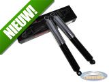 Schokbrekerset 340mm chroom / zwart MKX custom import