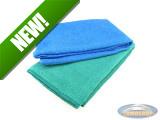 Microfibre cloth 40x40cm 2 pieces