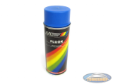 Motip spray paint fluor blue 400ml