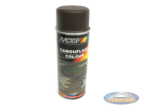 Motip spray paint camouflage army brown 400ml