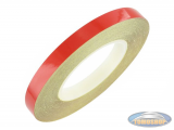 Rim tape sticker 7mm red 6 meter