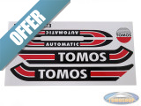 Sticker Tomos A3 S25 transfer set red / black