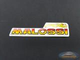 Sticker Malossi logo 8.5x2cm