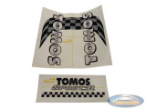 Sticker Tomos Sport'R tank + frame set