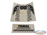 Sticker Tomos Sport'R tank + frame set