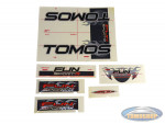 Sticker Tomos FunSport'R tank + frame set complete