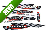 Sticker Tomos Sprint 2 speed automatic / universal