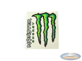 Stickerset Monster Energy 2-delig