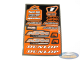 Stickerset KTM 12-piece