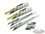 Sticker Tomos Wizz'rd set