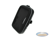 Waterdichte telefoon en GPS houder met stuurbevestiging