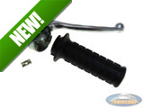 Handle set right throttle lever Lusito Original galvanzed A-quality (with brake light)