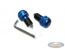 Handle bar damper kit round blue