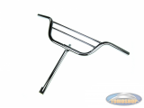 Handle bar Tomos 2L / 3L / 4L with double bar 45cm chrome